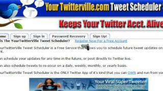 Twitter Internet Marketing Tools - Auto Tweet Scheduler Membership