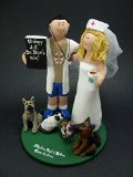 Doctor's Wedding Cake Topper - Made to Order