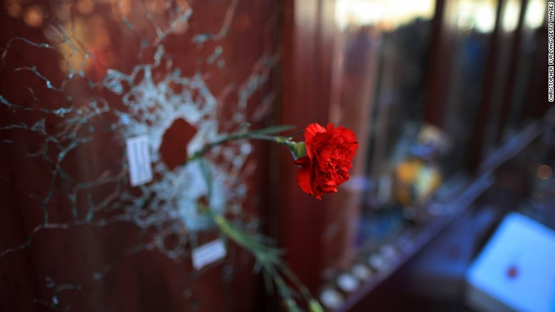 paris attacks flower restaurant terrorism